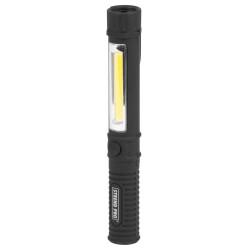 Teploměr pokojový plastový s vlhkoměrem, 250x45mm, černý