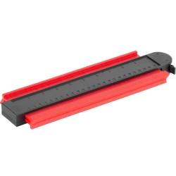 Rotační kartáč okružní, NYLON segmentový, 75mm, do vrtačky, FESTA