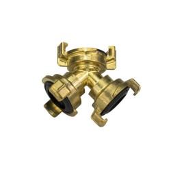Žebřík trojdílný univerzální, hliníkový, 3 x 12 příček, Eurostyl 7612, ALVE