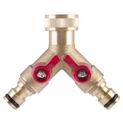 Žebřík trojdílný univerzální, hliníkový, 3 x 10 příček, Eurostyl 7610, ALVE