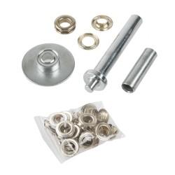 Kartáč ruční průměr 16mm, ocelový drát, plastová rukojeť