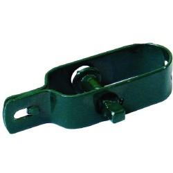 Pokladna kovová, 300x240x90mm, modrá