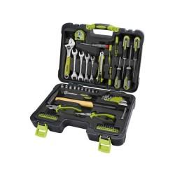 Prodlužovací kabel na bubnu, délka 25m, 4 zás., 3x1,5mm, pevný střed, EMOS