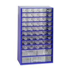 Vrtáky do kovu, sada 13ks, pr. 1,5 - 6,5mm, HSS