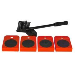 Kotouč leštící filcový se stopkou, 100 x 12mm